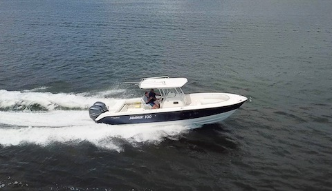 Watch the video of 2012 Edgewater running on the ICW near Hypoluxo, FL