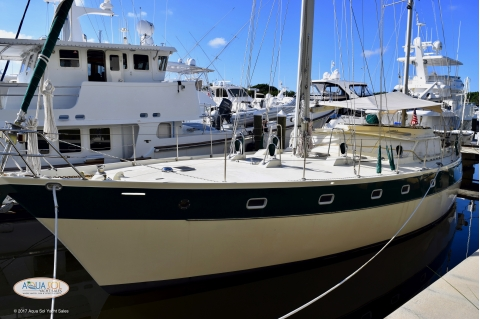 1987 Custom Built Ted Brewer 50' Pilothouse Ketch